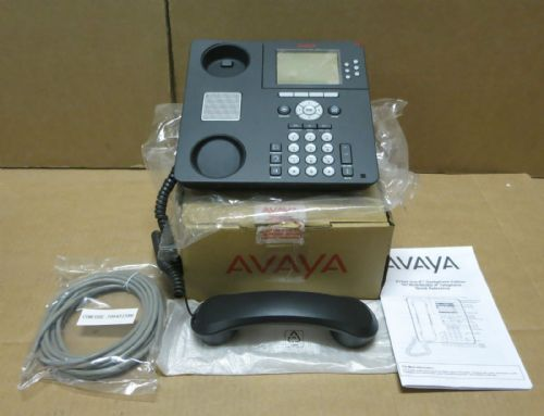 New Avaya 9630 IP VOIP Business Phone With Display 9630D01A-1009 700426729